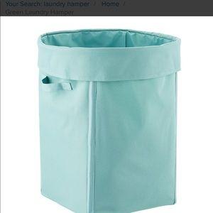 Green Laundry Hamper